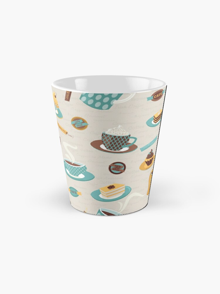 Alternate view of Morning Coffee Pattern  Mug
