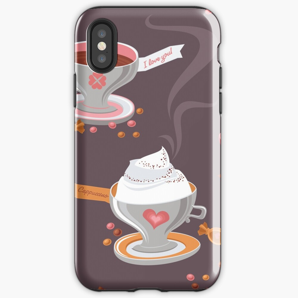 Coffee Pattern iPhone Case & Cover