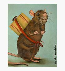 Pack Rat Photographic Print