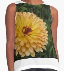 Pot Marigold Flower Contrast Tank