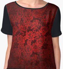 Roses Chiffon Top