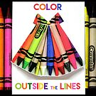 color outside the lines ... by Virginia Fitzgerald