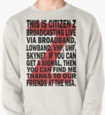 Z Nation: Citizen Z Speech Pullover