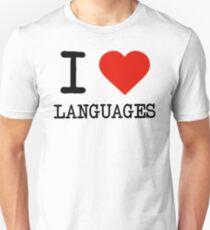 I Love Languages T-Shirt