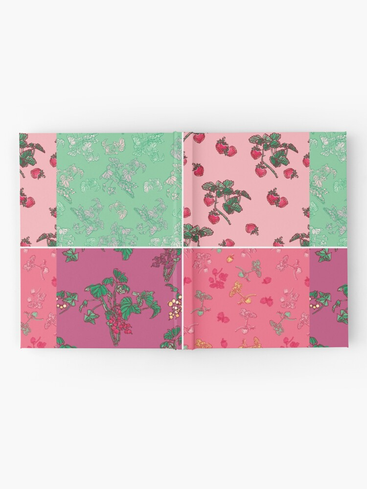 Alternate view of Decorative Berries Pattern Collection Hardcover Journal