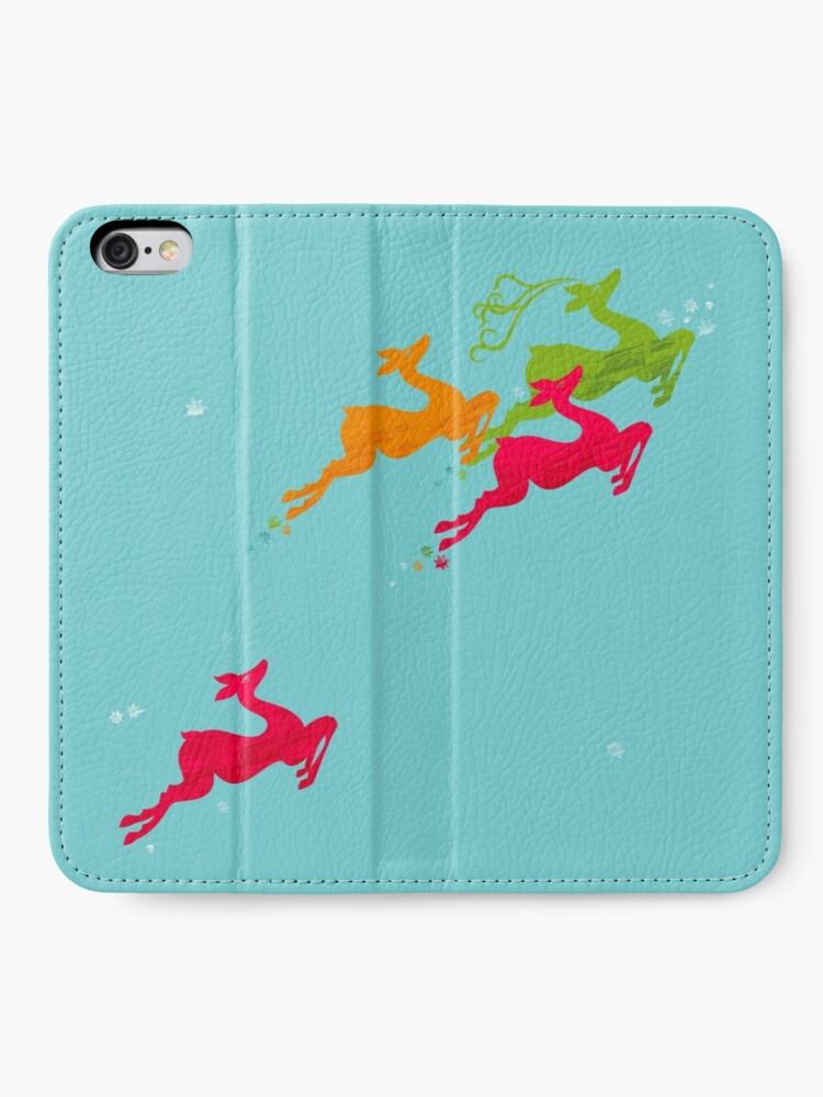 Alternate view of Winer Deer iPhone Wallet