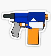 NERF TOY DESIGN- RETALIATOR Sticker