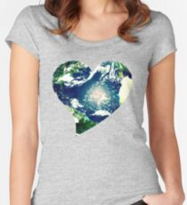 Earth love Women's Fitted Scoop T-Shirt