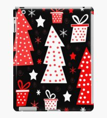 Red playful Xmas  iPad Case/Skin