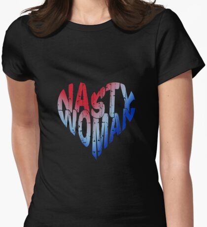 Nasty Woman Heart T-Shirt