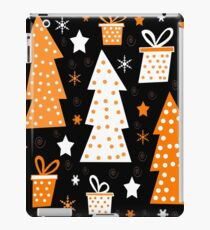 Orange playful Xmas iPad Case/Skin