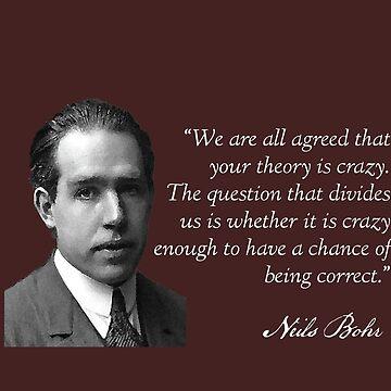 Neils Bohr by HaemishBew