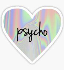 Psycho Love Sticker