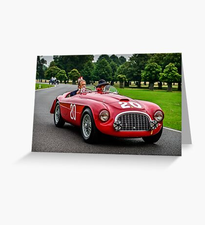 Ferrari 166MM Touring Barchetta 1949 Greeting Card