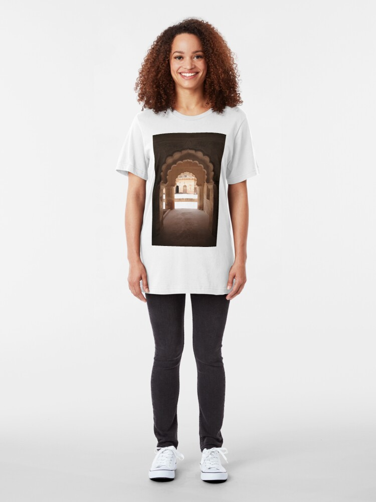 Alternate view of Orchha Arches Slim Fit T-Shirt