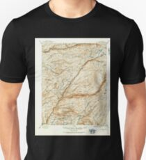 USGS TOPO Map California CA Big Trees 299223 1891 125000 geo Unisex T-Shirt