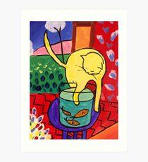 Matisse - Pussy Art Print