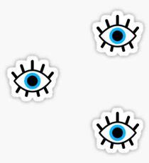magisches Auge Trio Sticker
