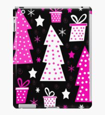 Pink Playful Xmas iPad Case/Skin