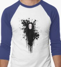 Ink face Men's Baseball ¾ T-Shirt