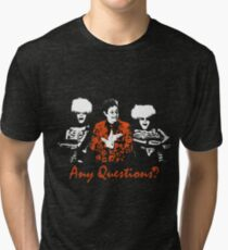 Any Questions? (David S. Pumpkin) Tri-blend T-Shirt