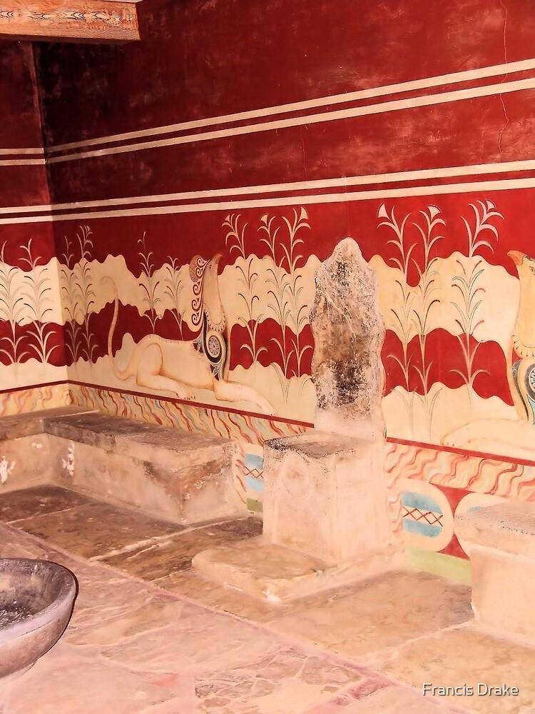 Knossos-Kings Chamber by Francis Drake