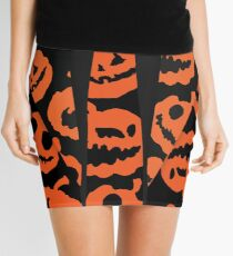 "DAVID PUMPKINS ""Tuxedo Shirt""  Mini Skirt"