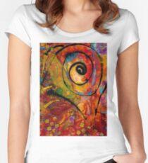 An Artist in Wonderland Women's Fitted Scoop T-Shirt