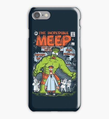 Incredible Meep iPhone Case/Skin