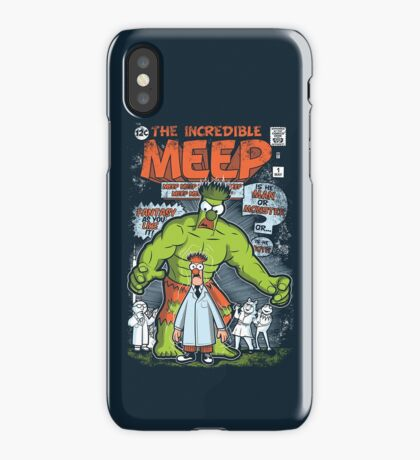 Incredible Meep iPhone Case