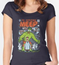 Incredible Meep Women's Fitted Scoop T-Shirt