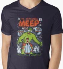 Incredible Meep Mens V-Neck T-Shirt