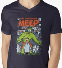 Incredible Meep Men's V-Neck T-Shirt
