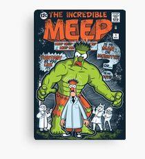 Incredible Meep Canvas Print