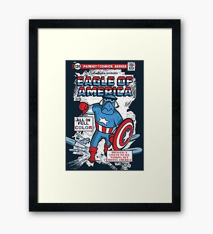 Eagle of America Framed Print