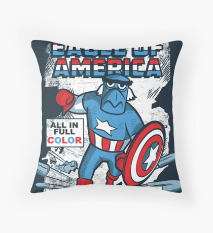 Eagle of America Throw Pillow