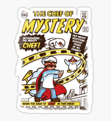 Chef of Mystery Sticker