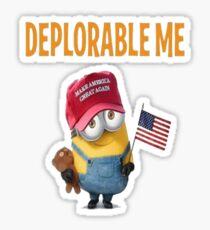 Deplorable Me - Classic Fit T-Shirt & Gear  Sticker