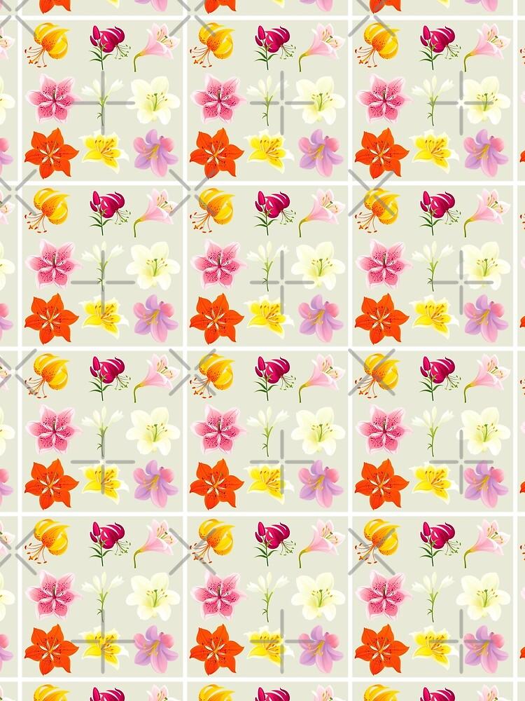 Colorful Lilies by rusanovska