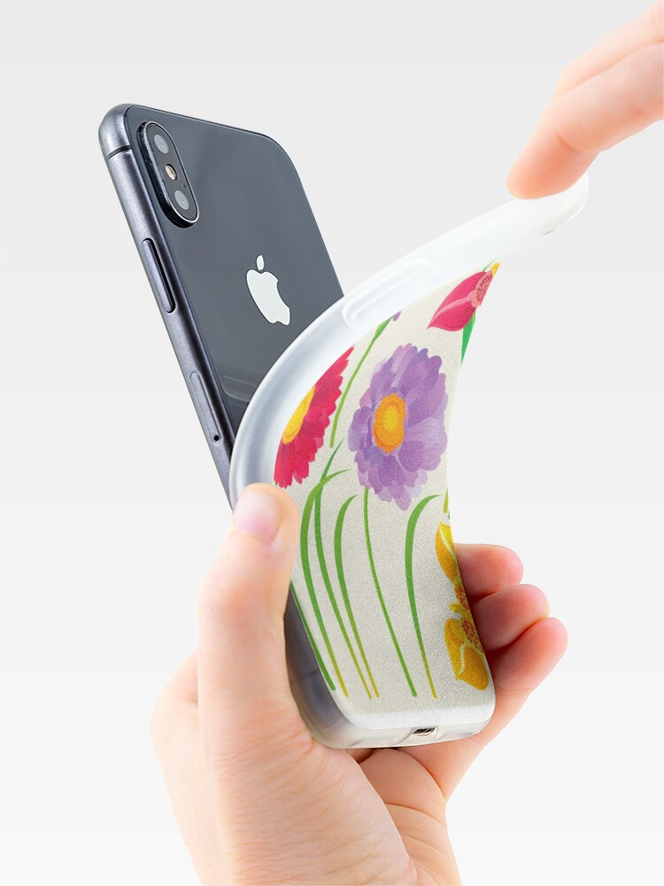 Alternate view of Spring Flowers iPhone Case & Cover