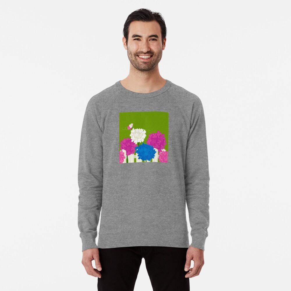 Flower Garden Lightweight Sweatshirt
