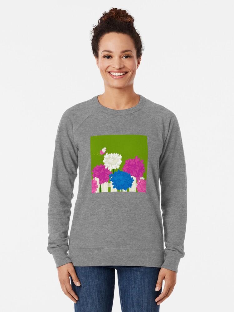 Alternate view of Flower Garden Lightweight Sweatshirt