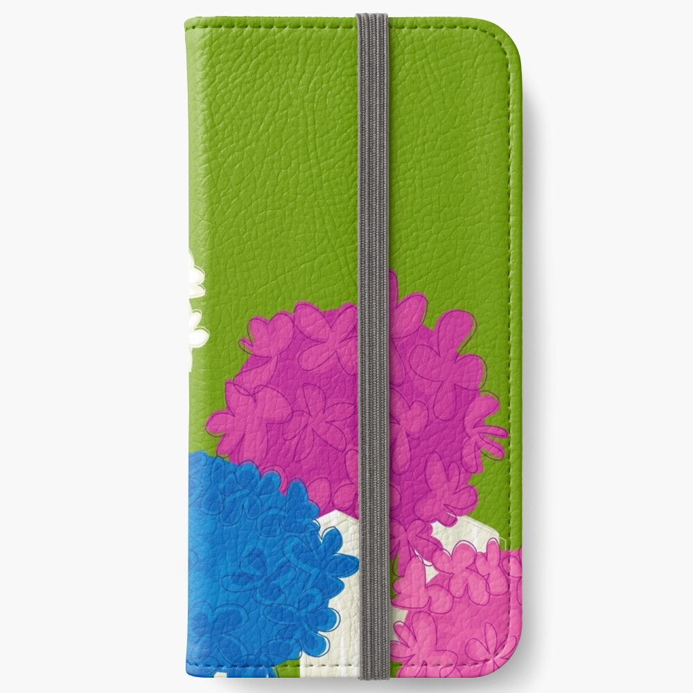 Flower Garden iPhone Wallet