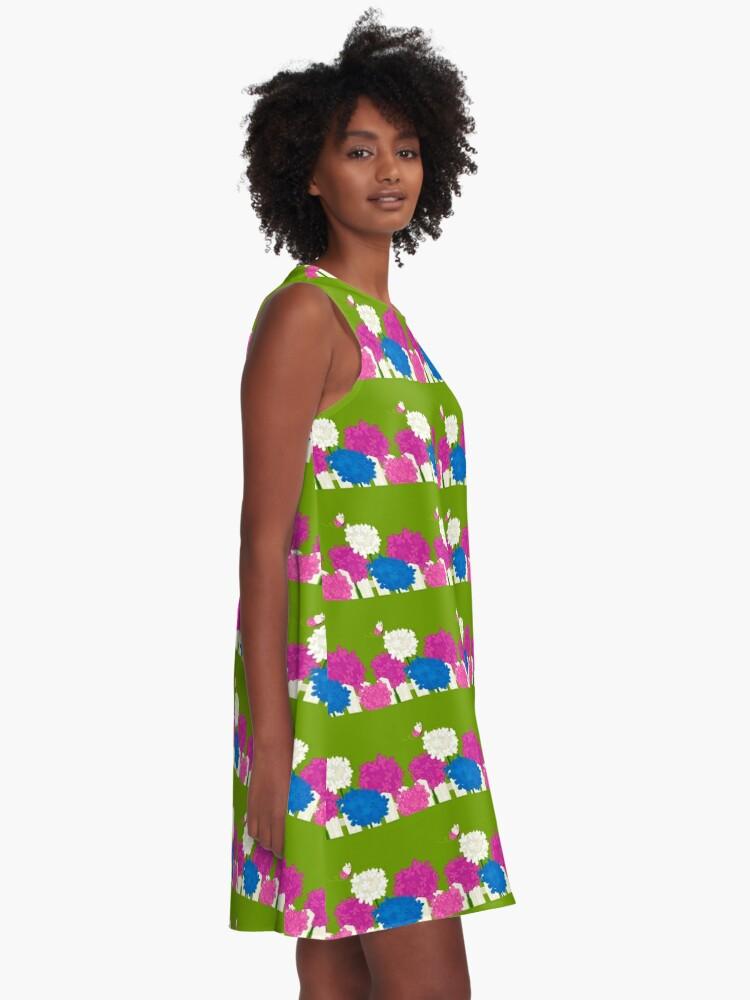 Alternate view of Flower Garden A-Line Dress