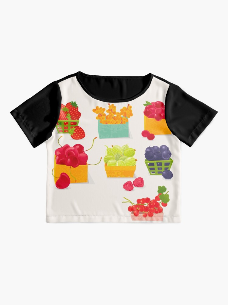 Alternate view of Sweet Berries Chiffon Top