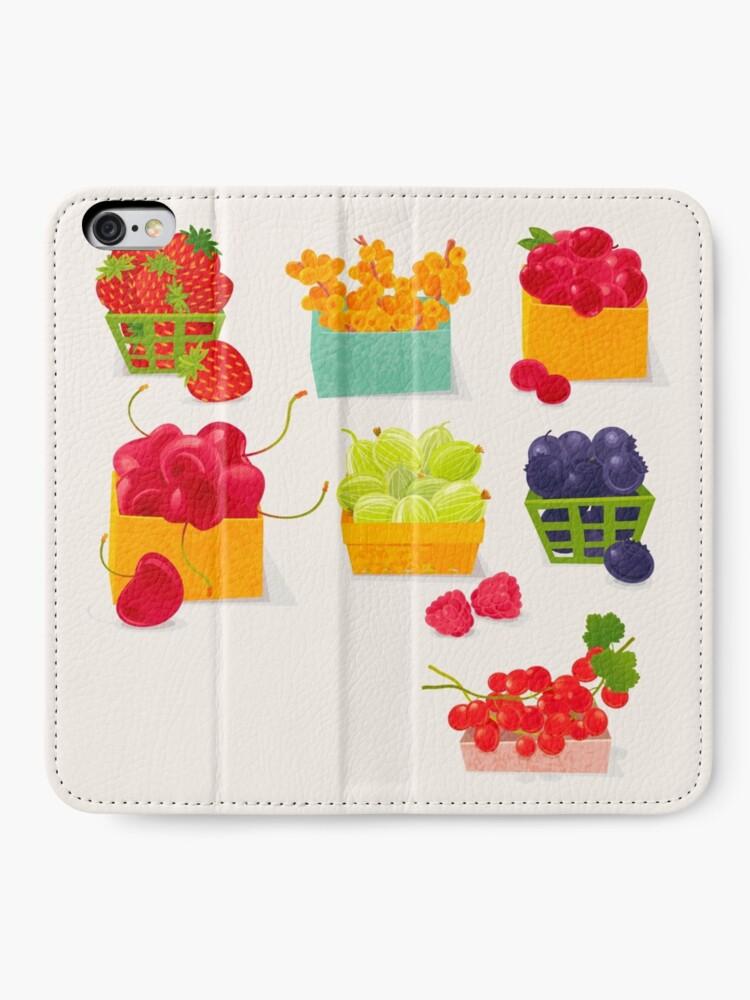 Alternate view of Sweet Berries iPhone Wallet