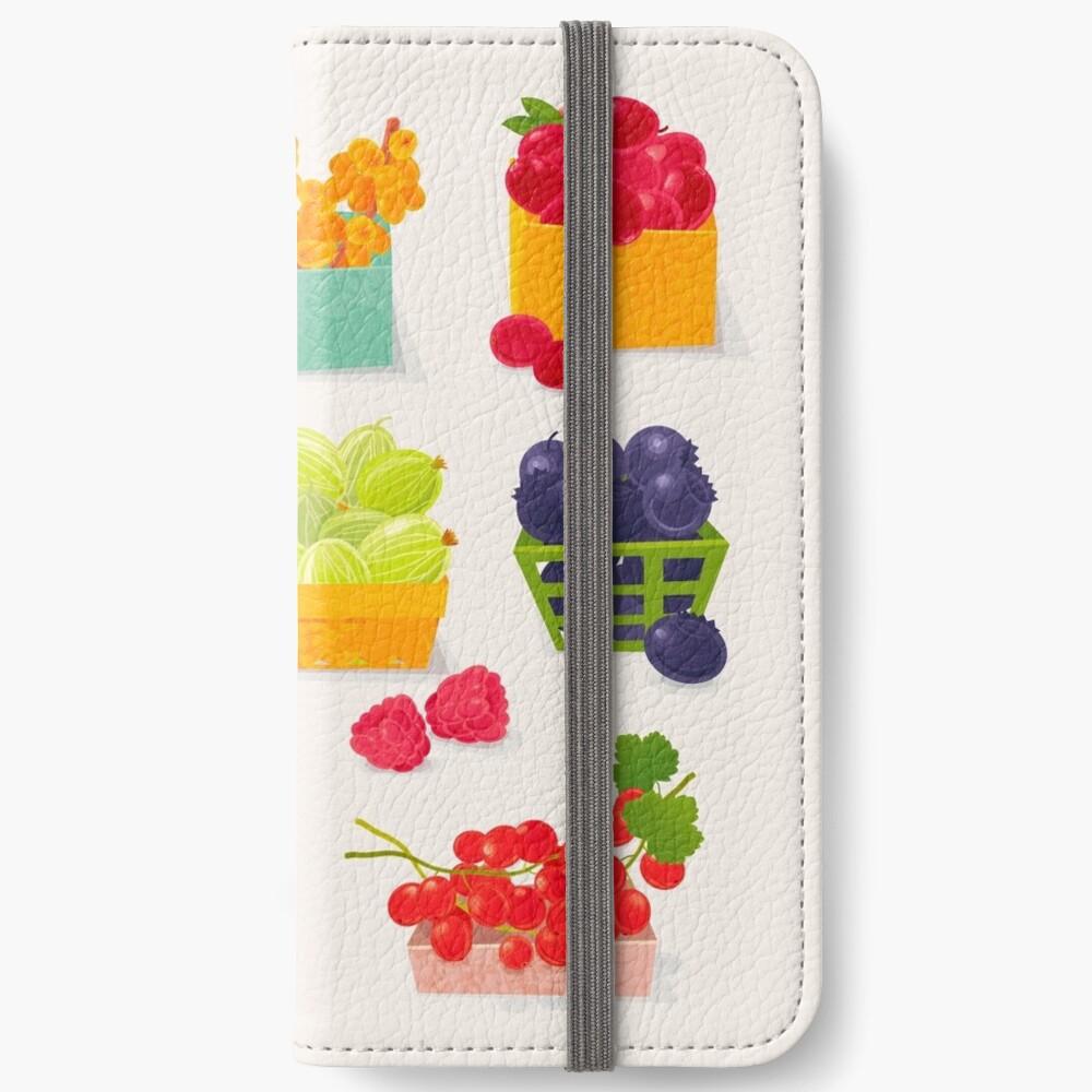 Sweet Berries iPhone Wallet