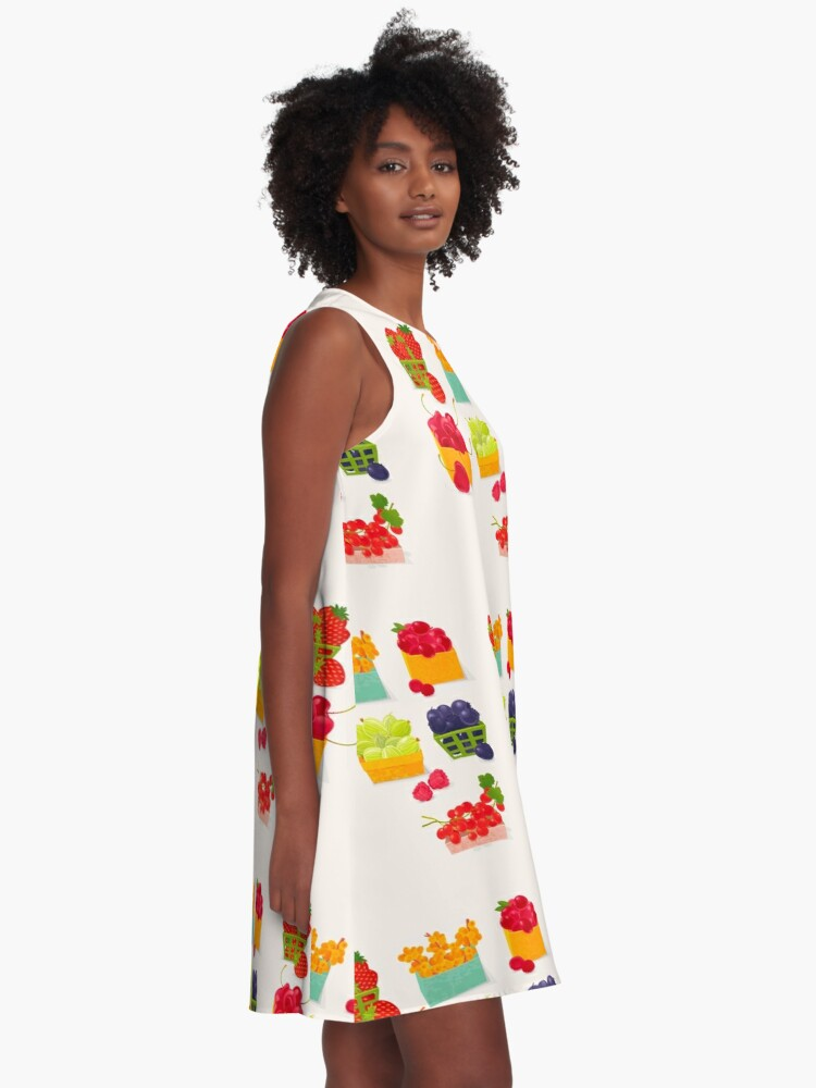 Alternate view of Sweet Berries A-Line Dress