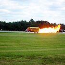 rocket powered  bus  by LoreLeft27