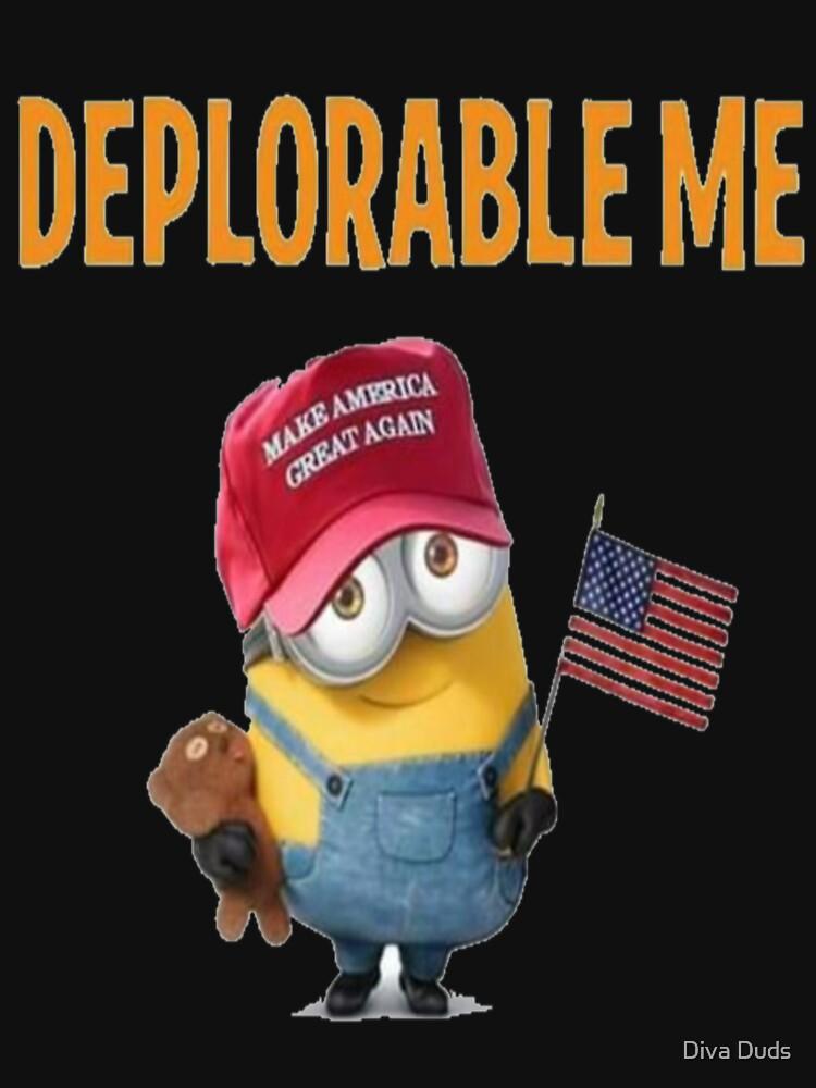 Deplorable Me - Classic Fit T-Shirt & Gear  by TIAMARIACAT